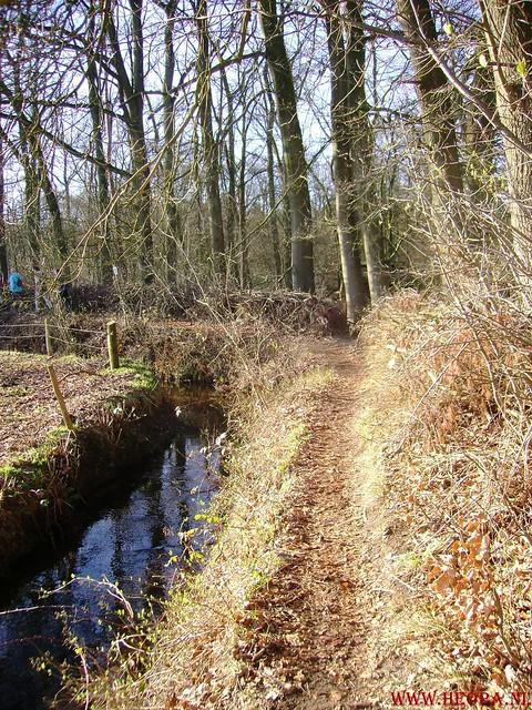 W.S.V.de Trekvogels 09-02-2008 15 Km  Apeldoorn (15)