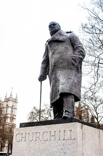 Winston Churchill statue, Parliament Square, London | by Andy Hay