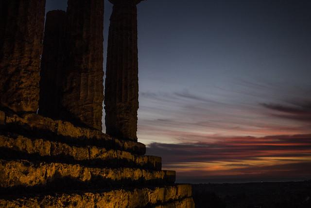 Temple's Sunset