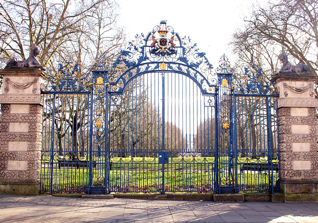 Gate at Green Park, London