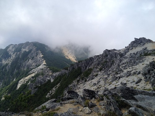 鳳凰山 鳳凰小屋分岐~薬師岳登山道 振り返り | by ichitakabridge