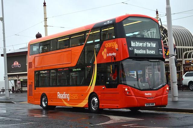 Reading Buses: 901 / SK66HRR