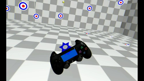 Image 3 Shuriken One of The Playroom VR's first gameplay prototypes in VR | by PlayStation Europe