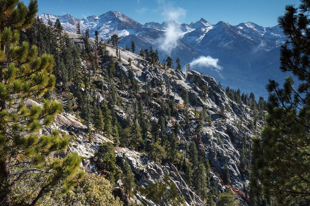High Sierra trail, Sequoia National Park