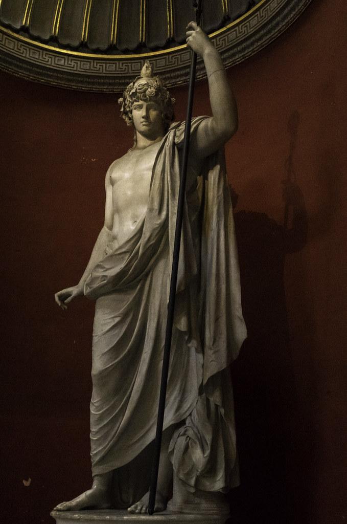 Vatican Museums Antinous As Osiris Dionysos Vatican