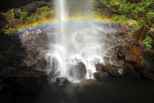 rainbow falls protestorsfalls nightcapnationalpark sonya7r sonyilce7r sonyfe55mmf18za sony55mmf18