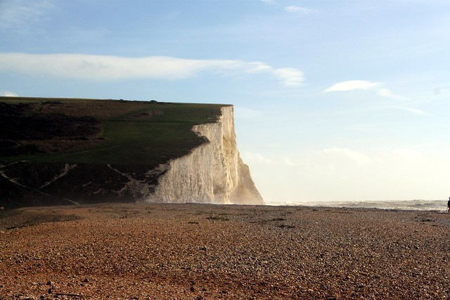 Cliffs at mouth of the Cuckmere River