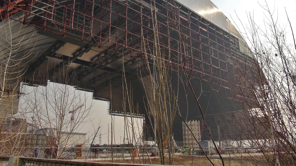 New Safe Confinement / Sarcophagus of Chernobyl, March 201
