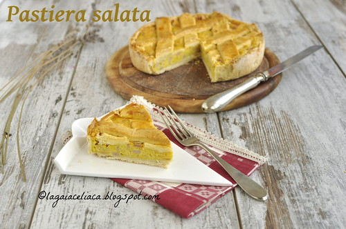 Pastiera salata senza glutine | by mammadaia