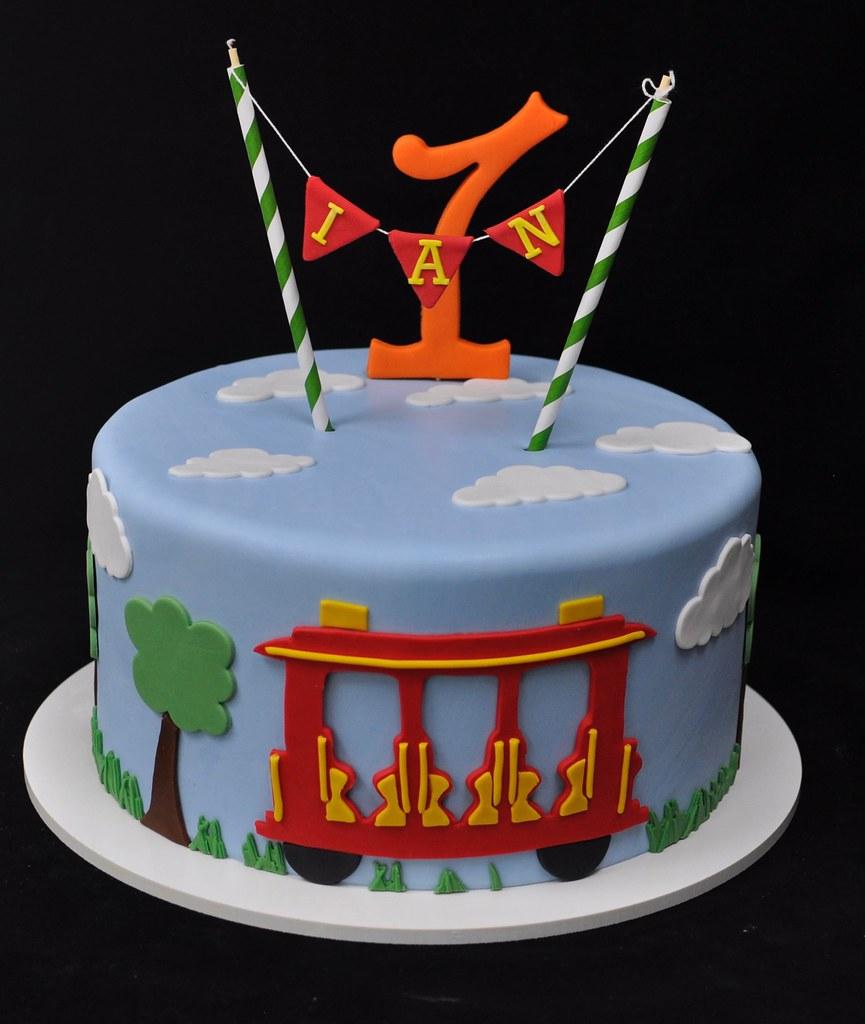Swell Daniel Tiger Birthday Cake Jenny Wenny Flickr Funny Birthday Cards Online Elaedamsfinfo