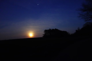 Moon Over the Fields | by unixrevolution
