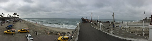 Overcast but still a great day in Oceanside