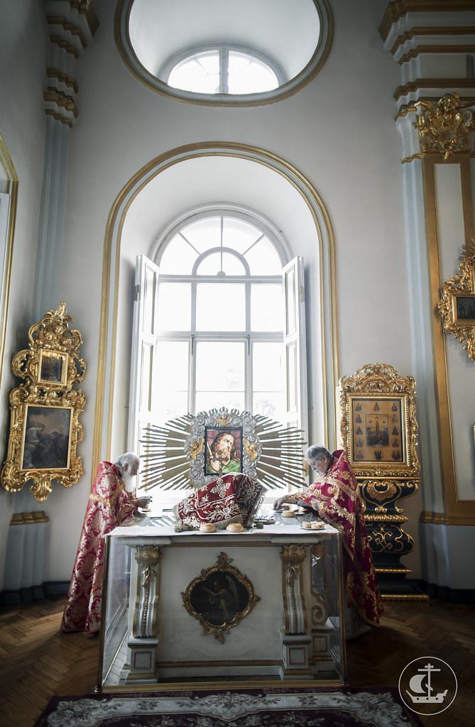 15 сентября 2016, Литургия в Николо-Богоявленском морском соборе / 15 September 2016, Divine Liturgy in the St. Nicholas Naval Cathedral