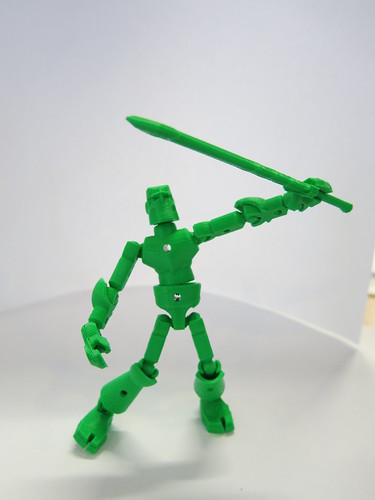 3D printed library warrior