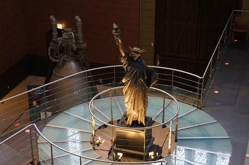 Statue de la Liberté éclairant le monde - Musée des arts et métiers