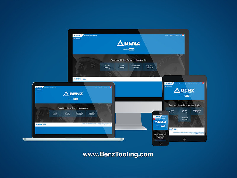 Benz Inc. Responsive Website Design