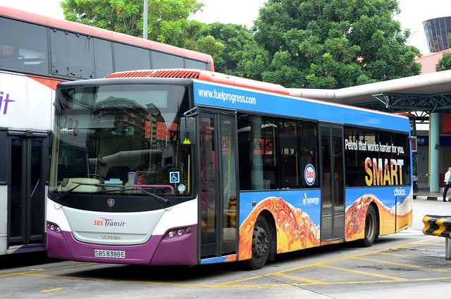 SBS Transit Scania K230UB Gemilang
