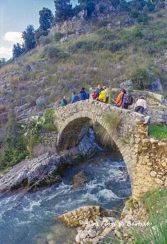 italy campania ponte romano angelo mulino monti santangelo rudere cascate cilento torrente ruderi alburni auso fasanella