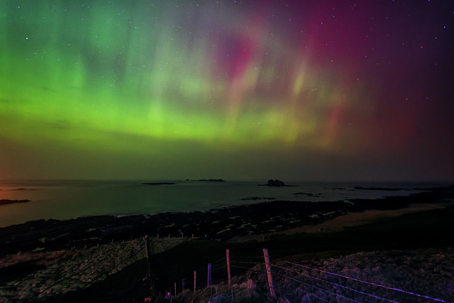 St Patricks's Day Aurora - Donegal - Ireland