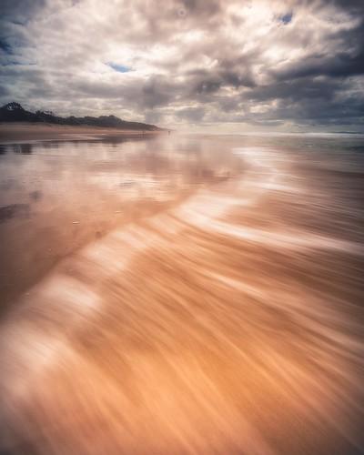 australia beach canon landscape leefilters light longexposure peregianbeach queensland sand seaside sunset sunshinecoast water waves