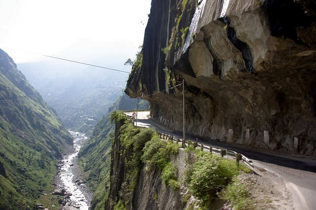 The scenic road, India 2016