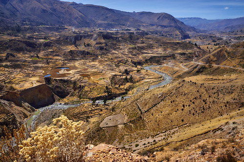 arequipa peru pe 2007 landscape valley mountain