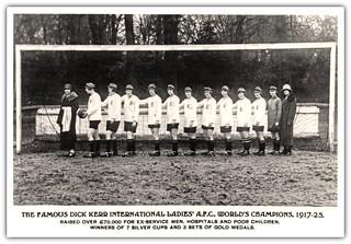 Dick Kerr International Ladies Football Team 1917-1925   by Preston Digital Archive