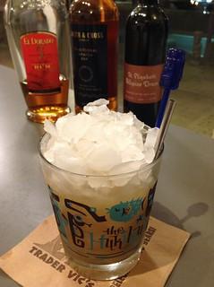Ancient Mariner (Jeff Berry) with Smith & Cross Jamaican rum, El Dorado 5 Demerara rum, allspice dram, grapefruit & lime, simple   by *FrogPrincesse*