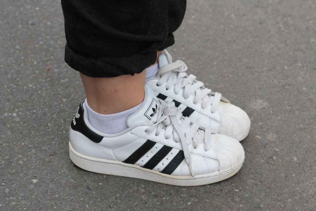 adidas superstar schuhe sneaker outfit look fashionblog mo
