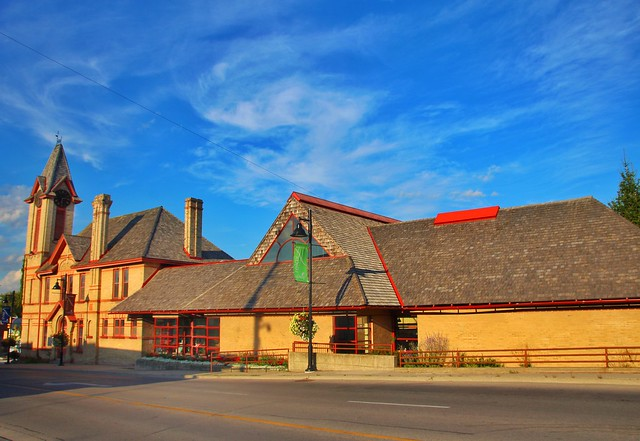 Uxbrige Ontario ~ Canada~ Uxbridge Public Library ~ Heritage Building