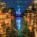 Rainy Main Street by Tom.Bricker