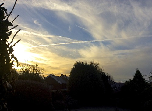 sky nature sunrise garden norfolk