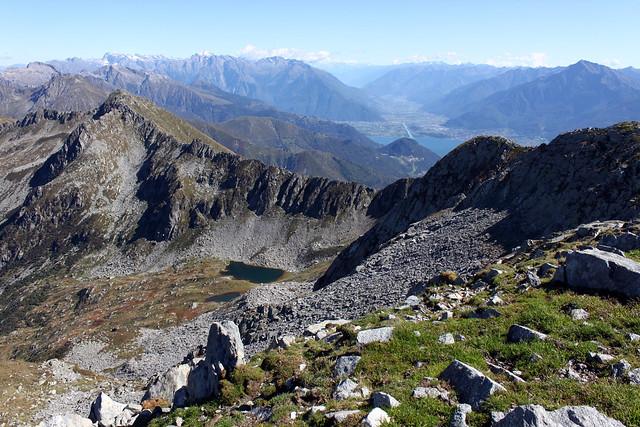 Blick zum Lago di Como