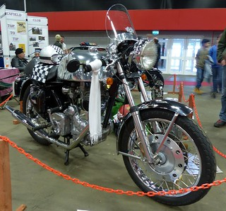 Royal Enfield cafe rscer | by Ayr Classic Motorcycle Club