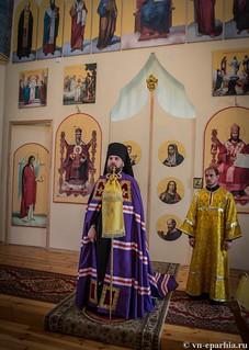 Литургия в Ильинском соборе 750