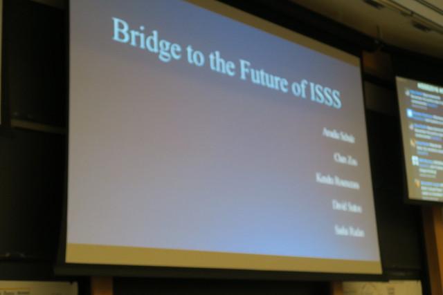 Graduate Program Team 2, Bridge To The Future Of The ISSS