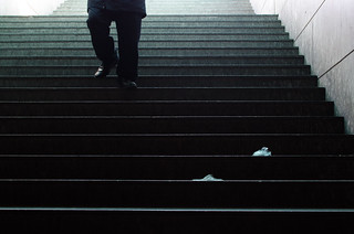 140/365: Subway Stairs | by H_H_Photography