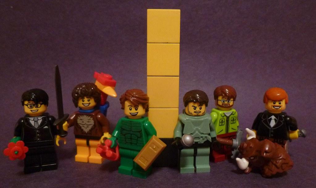 Lego Achievement Hunter | Here are some quick purist version