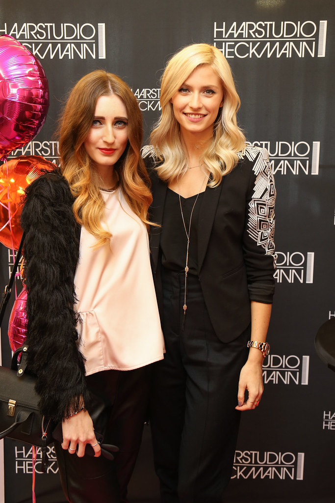 Ghd Event With Lena Gercke At Haarstudio Heckmann Www Thel