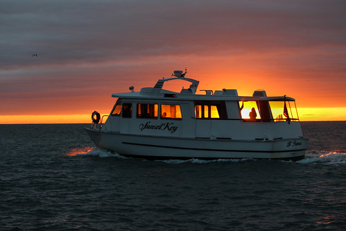 travel sunset sea usa cloud nature boat flickr florida