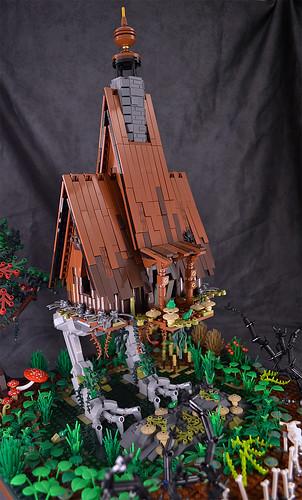 Chicken-legged hut