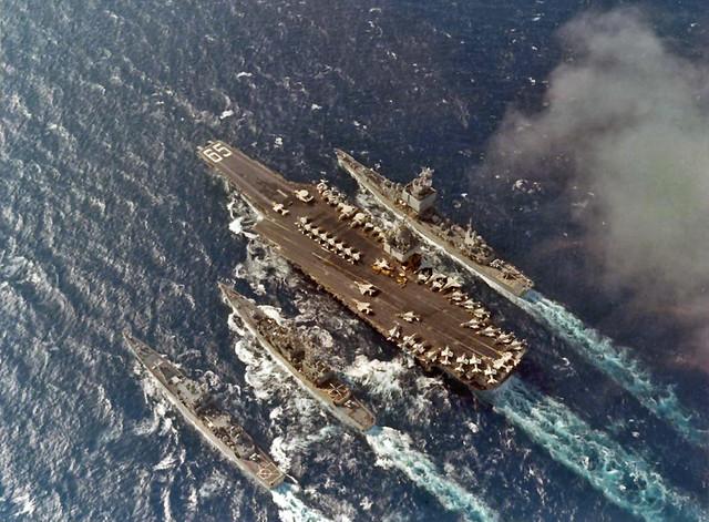 USS Enterprise, (CVAN-65) 1972-1973