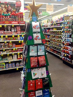 Rite Aid Christmas Hours.Gift Card Display Christmas Tree Design At Rite Aid 2014