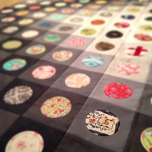 On the Bubble Quilt in Progress | by Sarah.WV