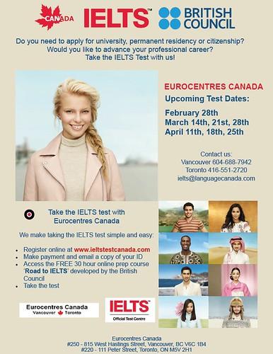 IELTS - Eurocentres Canada