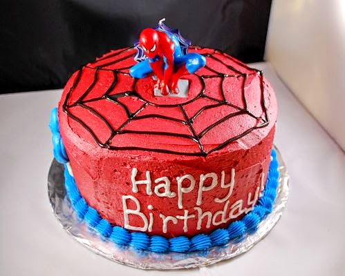 Enjoyable Spiderman Birthday Cake Spider Man Birthday Cakes Ibirth Flickr Personalised Birthday Cards Paralily Jamesorg