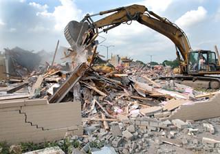 Korszerű munkagépek és az épületbontás
