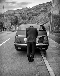 Funeral hearse, Ikeda, Japan   by Mark Zilberman Photography