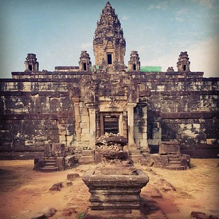 Bakong Temple #cambodia #siemreap #angkorwat #bakong #roluos #temple | by geoftheref