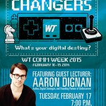 Comm Week- Game Changers 24x36 poster-Aaron Dignan